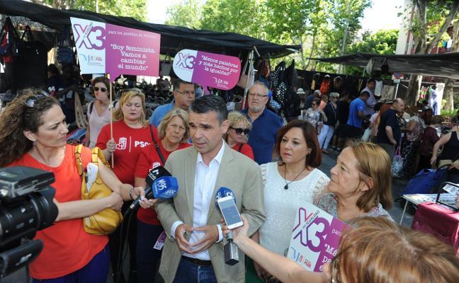El PSOE pide a la Diputación que triplique el presupuesto en igualdad