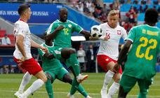 Polonia-Senegal, en imágenes