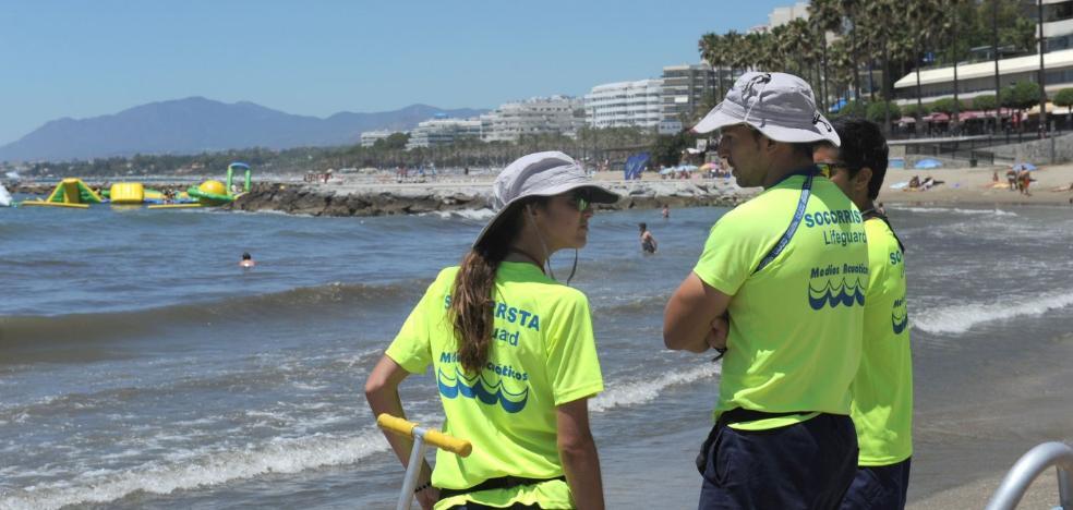 El dispositivo de socorrismo en las playas comenzará a funcionar el viernes