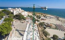 La nueva plaza de la playa del Cristo dispondrá de 1.000 metros