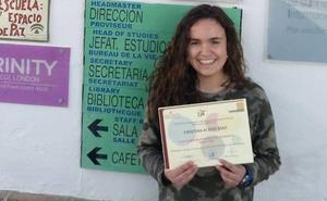La joven rondeña Cristina Aledo, campeona de las Olimpiadas de Geografía en Andalucía