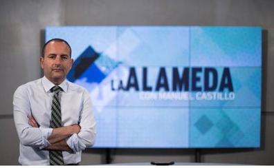Alberto Garzón y Javier Imbroda, hoy en 'La Alameda'