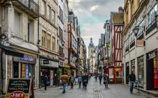 Rouen, la artística e histórica capital de Normandía
