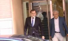 Rajoy se reincorpora a su plaza de registrador en Santa Pola