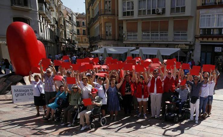 El corazón de la Cruz Roja de Málaga