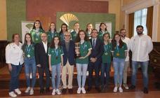 Orgullo del Unicaja por su Infantil Femenino, campeonas de España