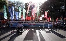Los colectivos de Málaga se unen por primera vez en la calle para exigir una sanidad de calidad