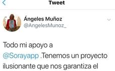 Ángeles Muñoz adelanta su apoyo a Sáenz de Santamaría para presidir el Partido Popular