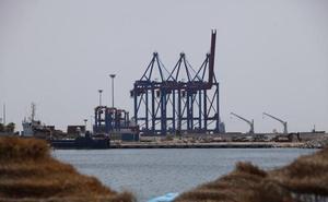Las nuevas grúas ya están en el Puerto de Málaga