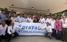 Sáenz de Santamaría se presenta como la candidata que puede ganar a Sánchez y promete renovar el PP