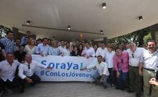 Sáenz de Santamaría toma impulso en Andalucía