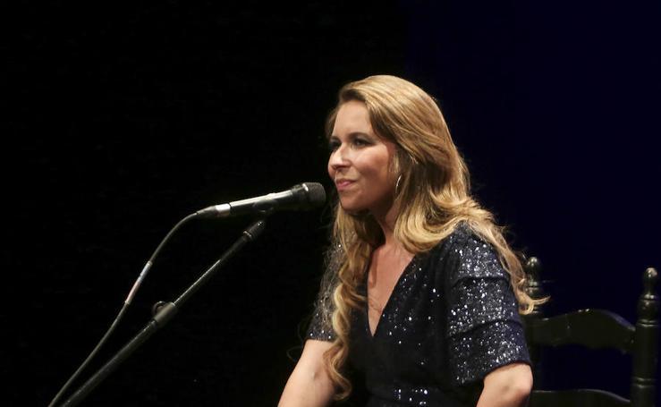 Rocío Márquez, en concierto en el Teatro Cervantes