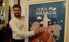 Así es el cartel de la Feria de Málaga 2018, del arquitecto malagueño Carlos León