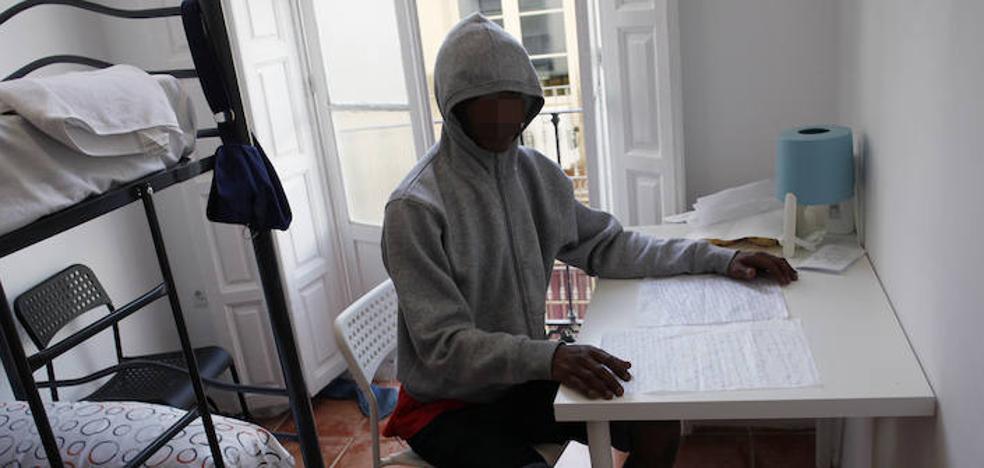 Orphelin, inmigrante llegado a Málaga: «En mis planes entraba todo, incluso la muerte»