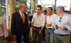 Pablo Casado visita Málaga