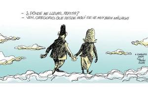 Llega 'Balada de Pepita y Gregorio', una canción homenaje a la historia de amor de Chiquito de la Calzada y su mujer