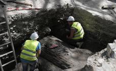 La obra de la Alameda se topa con los restos del fuerte de San Lorenzo