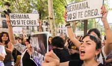 La víctima de 'La Manada' rompe su silencio con una carta: «Si os calláis, estáis dejando que ganen ellos»