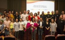 Junta y colectivos LGTB reivindican el derecho a la diversidad sexual en la entrega de 'Premios Andalucía Diversidad'