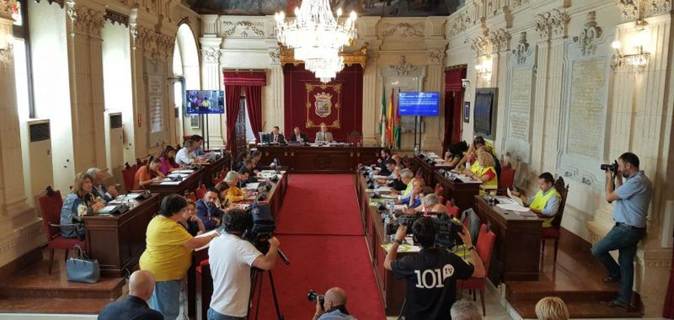 La municipalización de Limasa centra hoy el pleno del Ayuntamiento de Málaga
