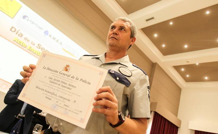 La Policía Nacional reconoce la labor de la seguridad privada en Málaga