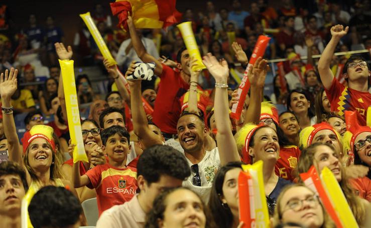Así fue el España-Bielorrusia disputado en Málaga