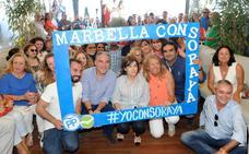 Cierre de filas 'sorayista' en Andalucía