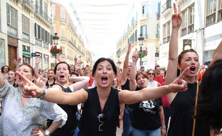 Málaga trata de batir el récord de 3.665 bailaores de flamenco simultáneos