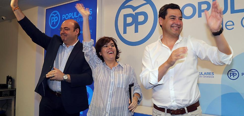 Juanma Moreno toma partido por Santamaría en las primarias del PP