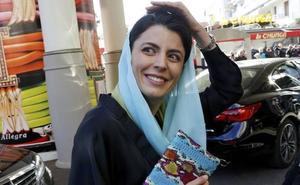 Leila Hatami, la actriz iraní que se libró de los latigazos, rueda en Marbella