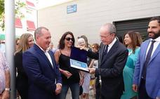 Málaga rinde homenaje a la socialista Carmen Olmedo con una plaza con su nombre