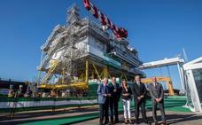 Navantia entrega la subestación eléctrica del mayor parque eólico del mundo