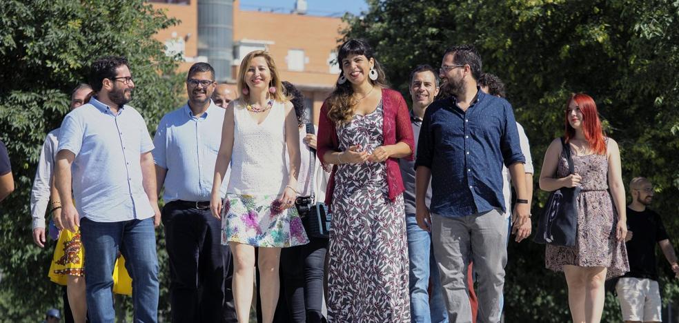 Teresa Rodríguez incluye a errejonistas en su lista