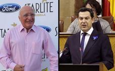 Raúl Sender sustituirá a Moreno Bonilla como pregonero de Campanillas tras las críticas del PSOE y Podemos