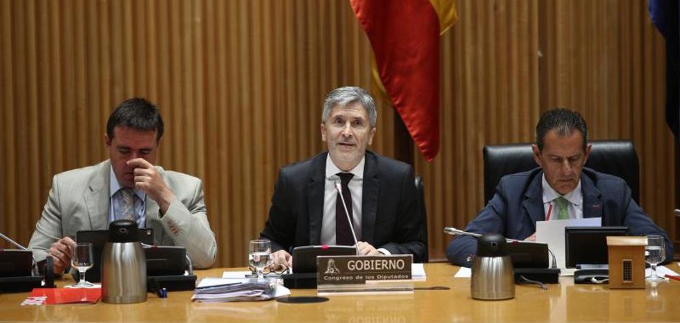 Marlaska niega que el traslado de los presos catalanes sea el pago de un «peaje»