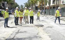 Torremolinos inicia la segunda fase de las obras de peatonalización del centro