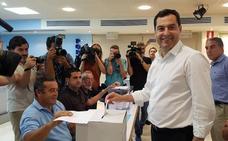 Moreno aboga por una candidatura de consenso tras las primarias en el PP