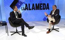 El consejero Javier Carnero, en 'La Alameda'