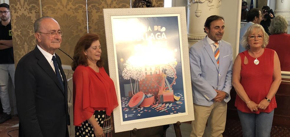 El presidente de la Fundación Andrés Olivares, abanderado de la Feria de Málaga