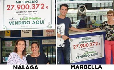 La rumorología toma Málaga y Marbella tras la pista de los dos boletos de 28 millones de La Primitiva