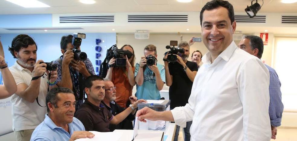 Andalucía da la victoria a Santamaría y refuerza a Juanma Moreno en el PP-A