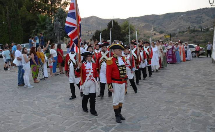 Macharaviaya festeja el 4 de julio con un homenaje a Bernardo de Gálvez