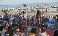 Glamour con desfiles a pie de playa