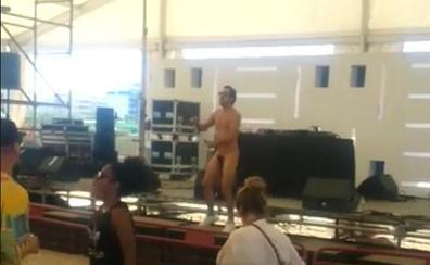 El DJ nudista del Weekend Beach
