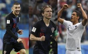 El doble reto de Modric, Kovacic y Varane
