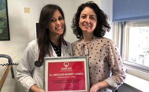 Una residente de cardiología de Carlos Haya gana un premio nacional al demostrar sus conocimientos