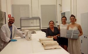 Nerja restaura nuevos documentos de su archivo