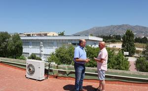 Comienzan los trabajos de retirada de amianto en el Colegio Las Cañadas de Mijas