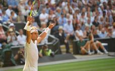 Nadal se clasifica para cuartos de final en Wimbledon sin ceder un set