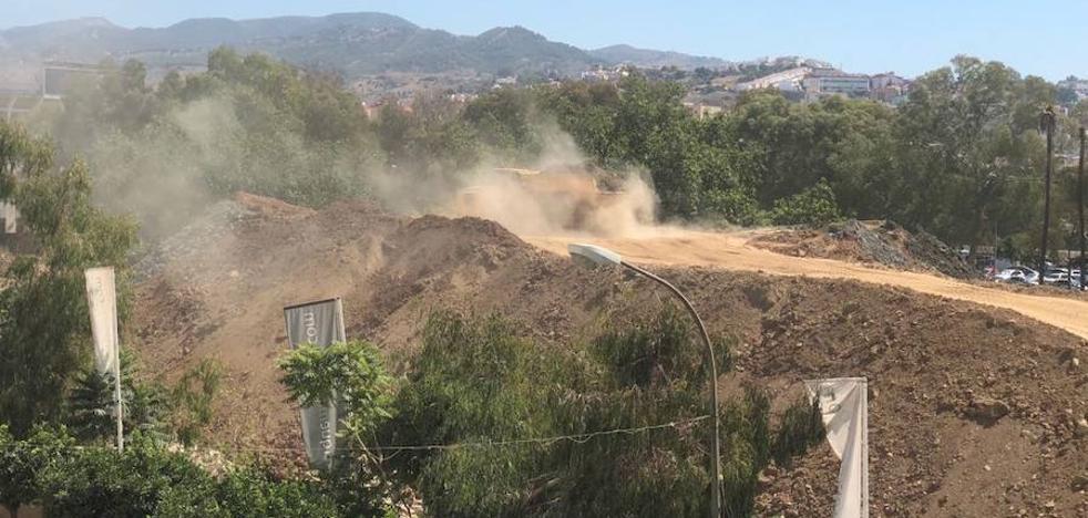 El PSOE pide más control sobre el polvo generado por las obras en Málaga
